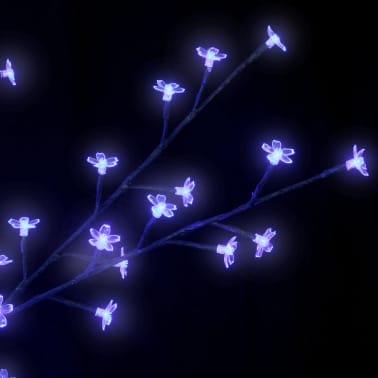 2 Kirsebærtrær LED Blått Lys[5/6]