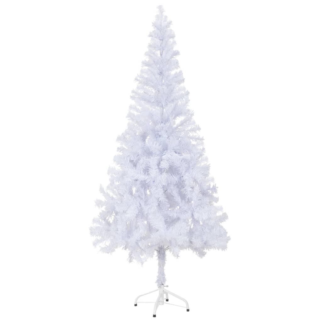 Kunstkerstboom wit 180 cm