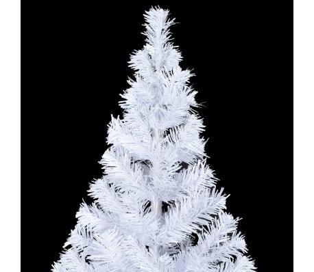 vidaXL Albero di Natale Artificiale con Supporto e 620 Rami 180 cm[4/8]