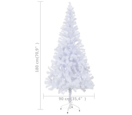 vidaXL Albero di Natale Artificiale con Supporto e 620 Rami 180 cm[8/8]