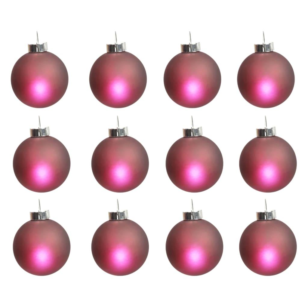 Becuri cu LED wireless pentru Crăciun (12 buc), Roșu poza 2021 vidaXL