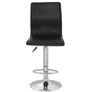 vidaXL Bar Stools 2 pcs Black[2/5]