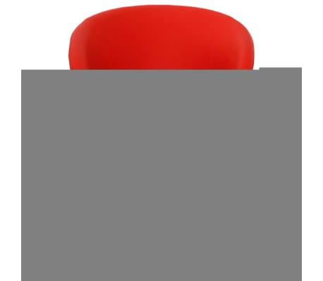 acheter vidaxl tabourets de bar rouge 63 5x55x75 91 cm pas cher. Black Bedroom Furniture Sets. Home Design Ideas