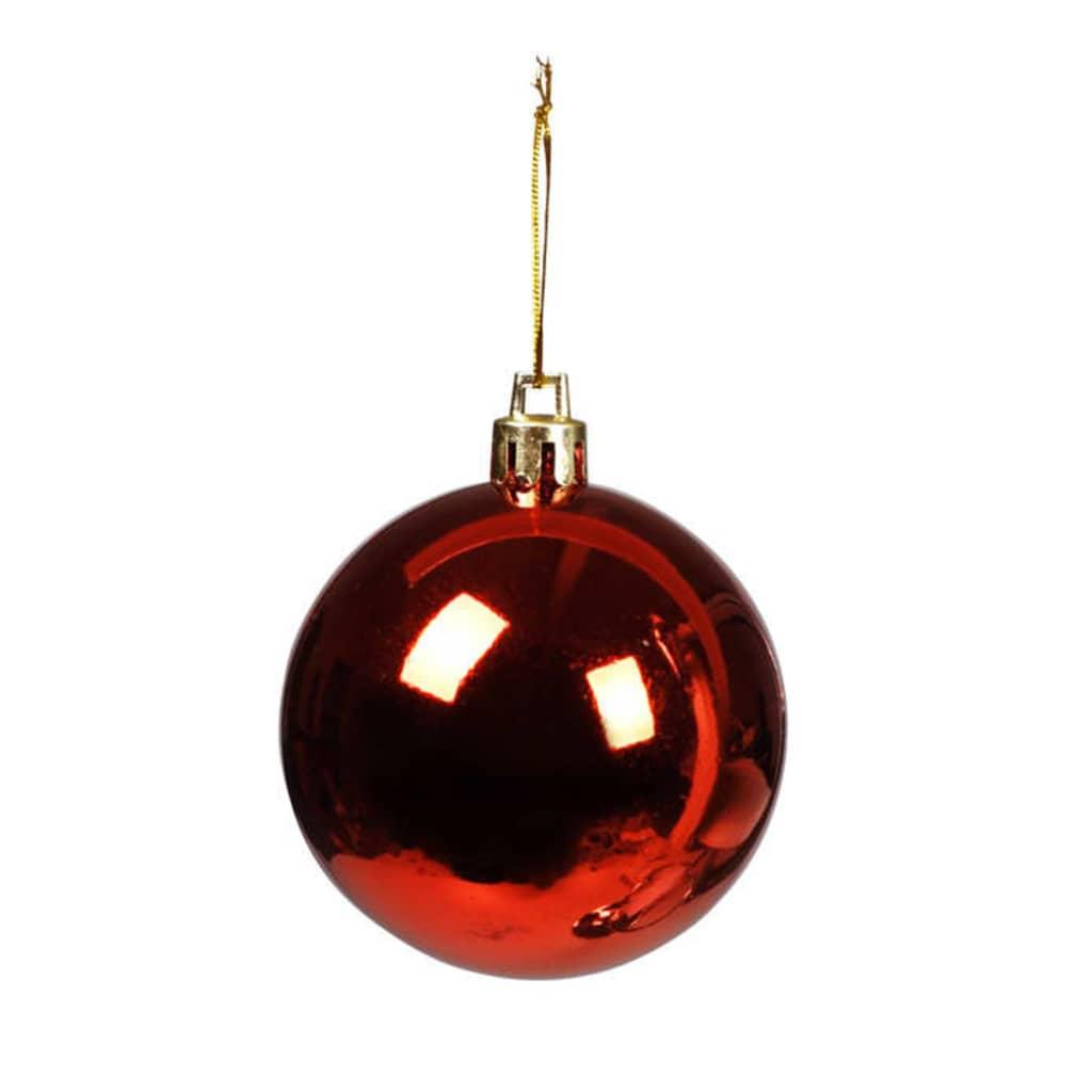 Afbeelding van vidaXL Kerstballen rood glans 100 stuks