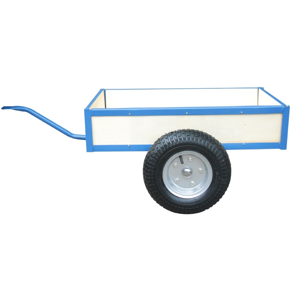 Modrý přívěs na motokáru - 27 x 70 x 41 cm