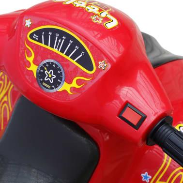 ATV electric copii roșu și negru[4/5]