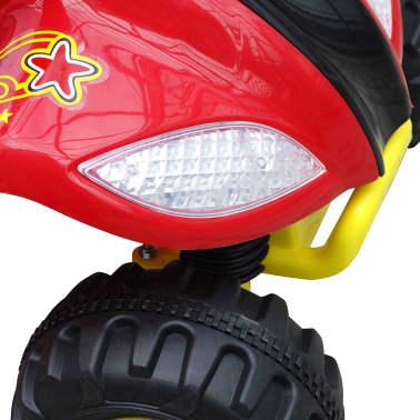 ATV electric copii roșu și negru[5/5]