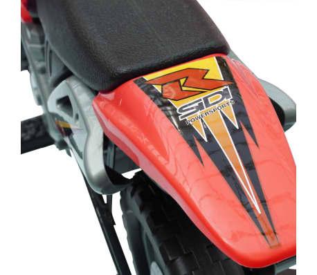 Vaikiškas Elektrinis Motociklas, Raudonas[4/6]