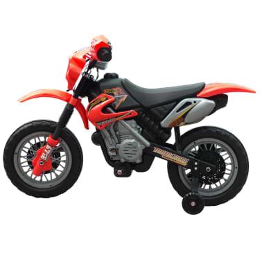 Vaikiškas Elektrinis Motociklas, Raudonas[2/6]