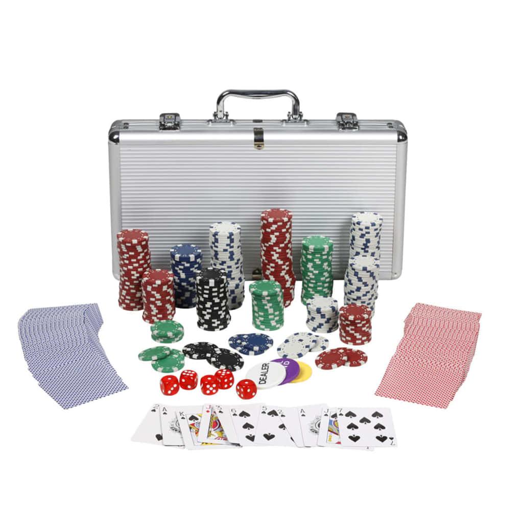 Pokerová sada 300 každý žeton 11,5 g
