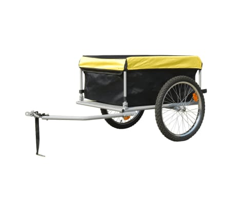 Bike Trailer with Cover 4.9 Cubic Feet[2/3]