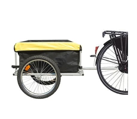 Bike Trailer with Cover 4.9 Cubic Feet[3/3]