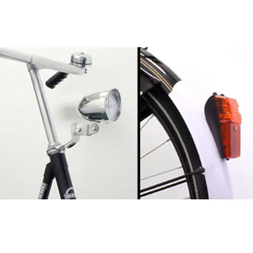 Přední a zadní LED světla na kolo