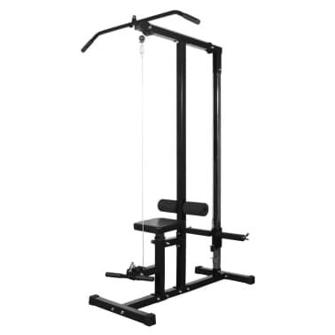 vidaXL Kraftstation Fitnessstation ohne Gewichtsplatten[1/5]