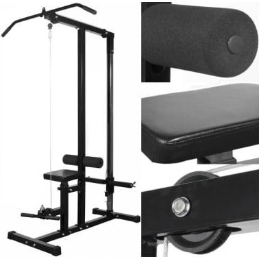 vidaXL Kraftstation Fitnessstation ohne Gewichtsplatten[5/5]