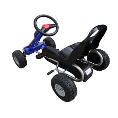 vidaXL Pedal-Gokart Blau[3/3]