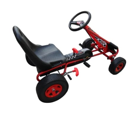 Red Pedal Go Kart with Adjustable Seat[2/5]