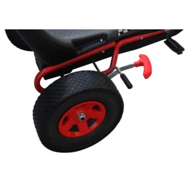 Red Pedal Go Kart with Adjustable Seat[5/5]