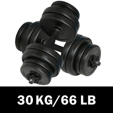 vidaXL Manualer 2x15 kg[1/4]