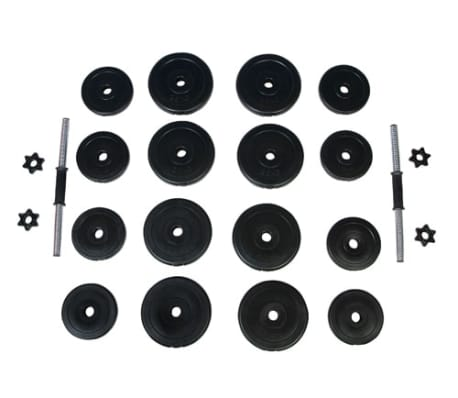 vidaXL Manualer 2x15 kg[4/4]