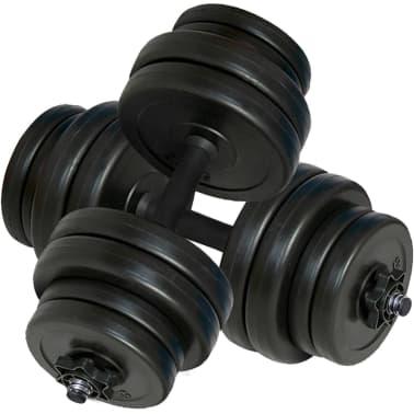 2 hantle o łącznym ciężarze 31 kg[2/4]