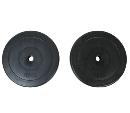 2 x Weight Plates 10 kg[1/2]