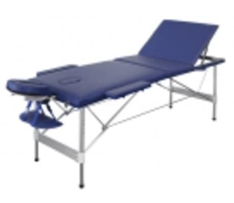 Lettino Massaggio Pieghevole Alluminio.Lettino Massaggio Ed Estetica Pieghevole Alluminio 3 Zone