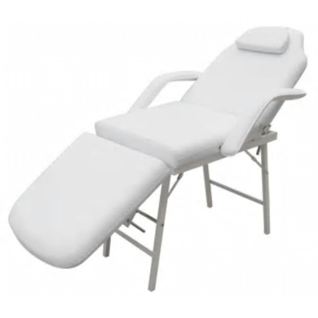 Afbeelding van vidaXL Behandelstoel wit