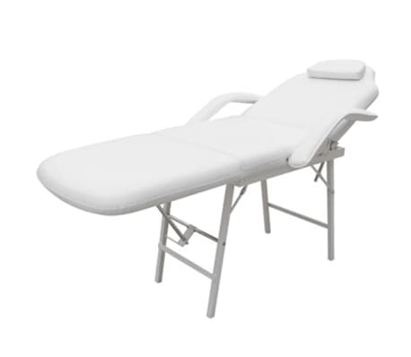 Treatment chair adjustable back- and footrest white[3/6]