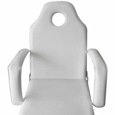 Treatment chair adjustable back- and footrest white[5/6]