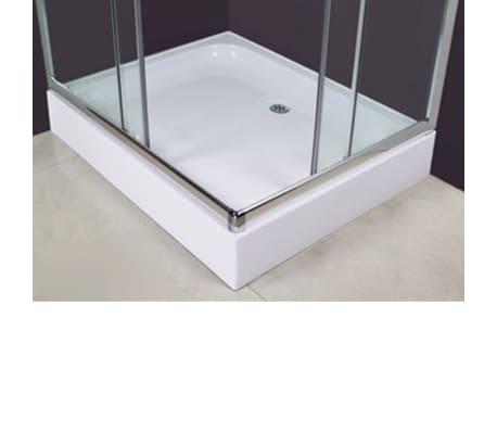 acheter cabine douche rectangulaire 100 x 80 cm pas cher. Black Bedroom Furniture Sets. Home Design Ideas