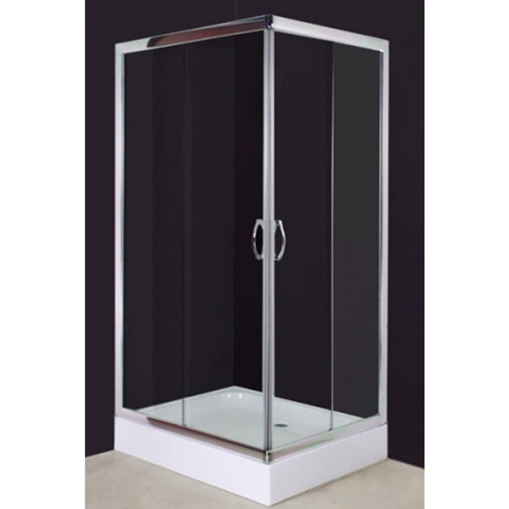 Sprchový kout 100 x 80 cm obdélníkový