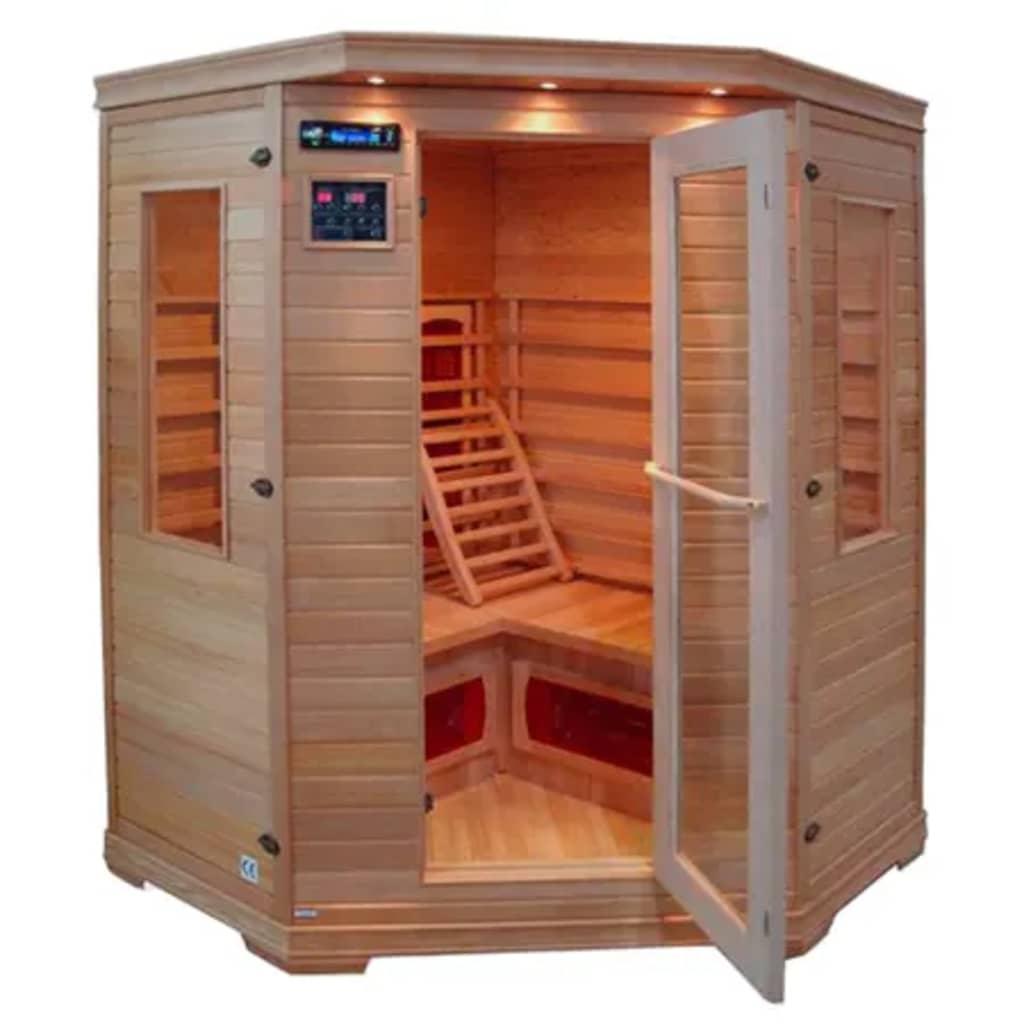Afbeelding van vidaXL Infrarood sauna drie personen