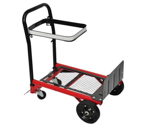 Collapsible platform trolley