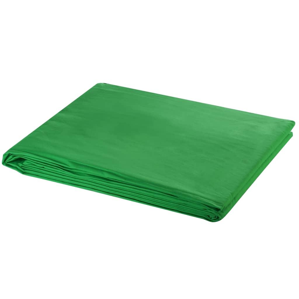 Puuvillane taust, roheline, 300 x 300 cm, taustpr..