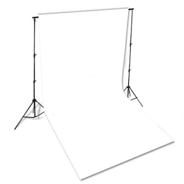 vidaXL Backdrop Cotton White 600x300 cm[4/4]