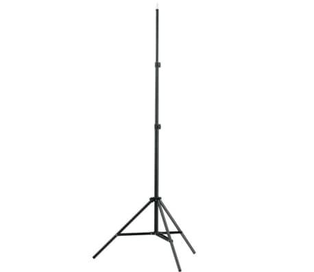 Kit de studio photo avec lampes pieds et parapluies[2/5]