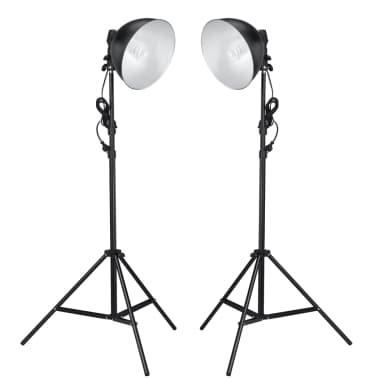 Φωτιστικά Στούντιο με Διαθλαστήρα και Τρίποδα 24 Watt[1/7]