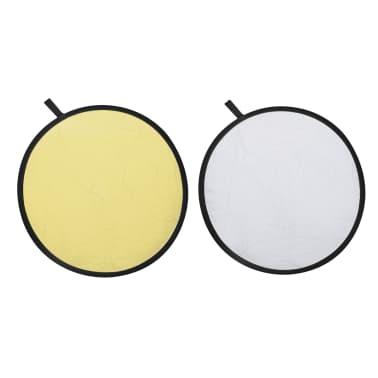 cran réflecteur 2 en 1 Or et Argent Ø80cm[1/5]
