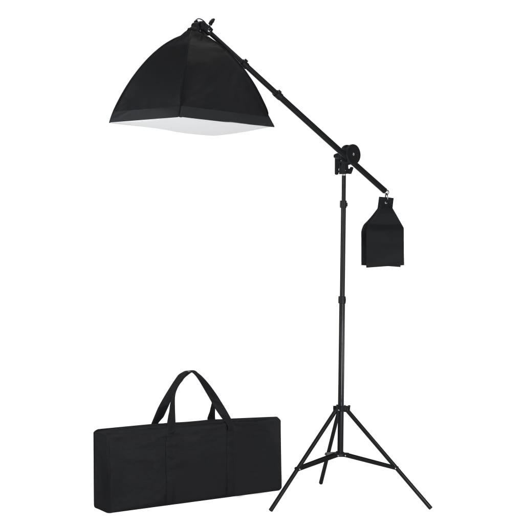 vidaXL Lumină studio cu trepied & softbox 40 x 40 cm poza 2021 vidaXL