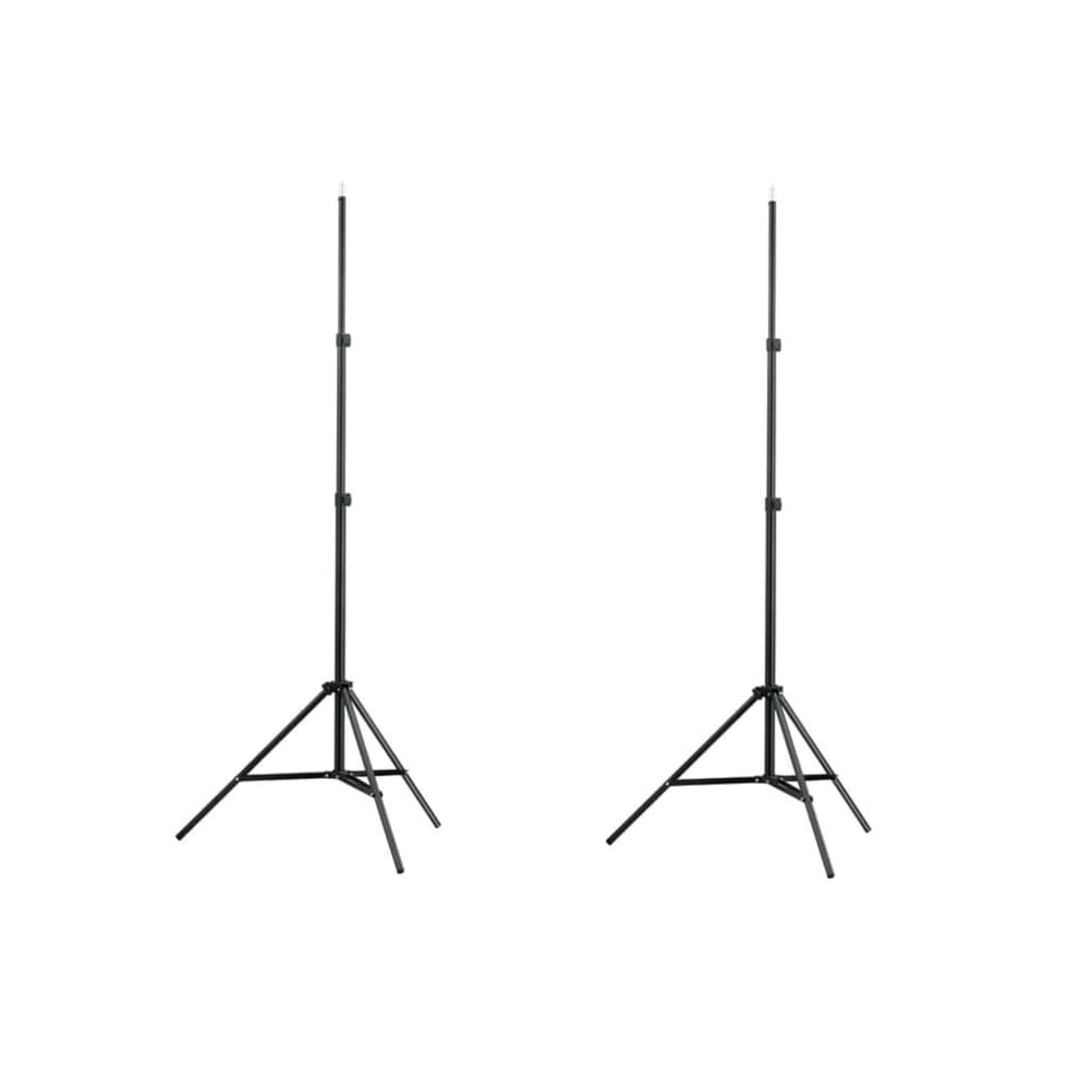 Valgusstatiivid 2 tk, kõrgus 78-210 cm
