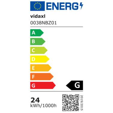 vidaXL Studiobelysningssett: 24 watt stativ og paraplyer[4/7]