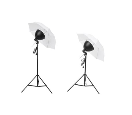 vidaXL Studiobeleuchtung-Set: Schirm-Softbox, Lampenschirme & Stative[3/6]