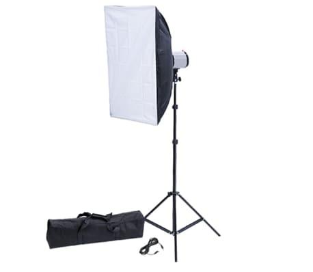 studiolampe studioblitz 120 ws softbox 50 x 70 cm und. Black Bedroom Furniture Sets. Home Design Ideas
