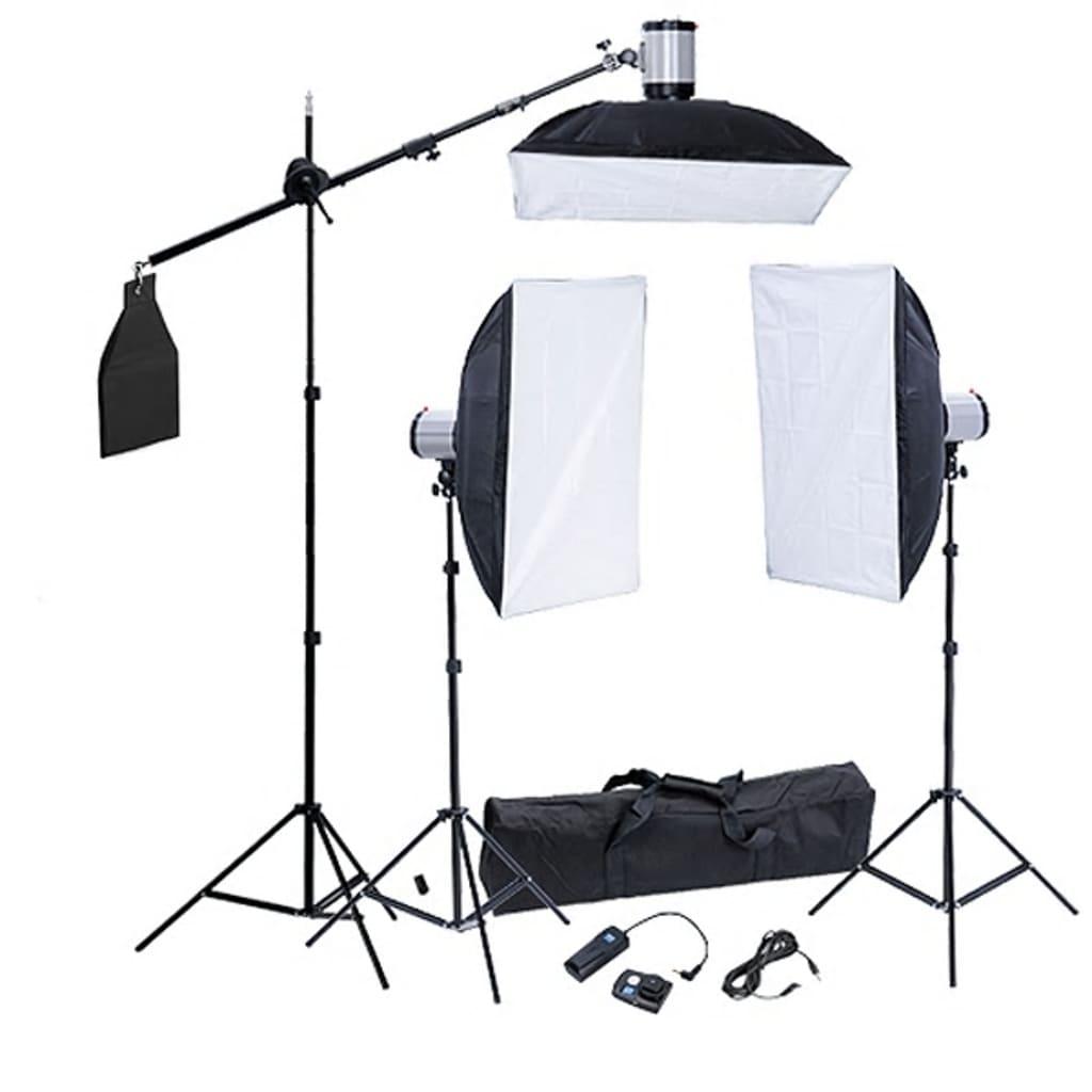 Kit studio foto softbox-uri 50 x 70 cm vidaxl.ro