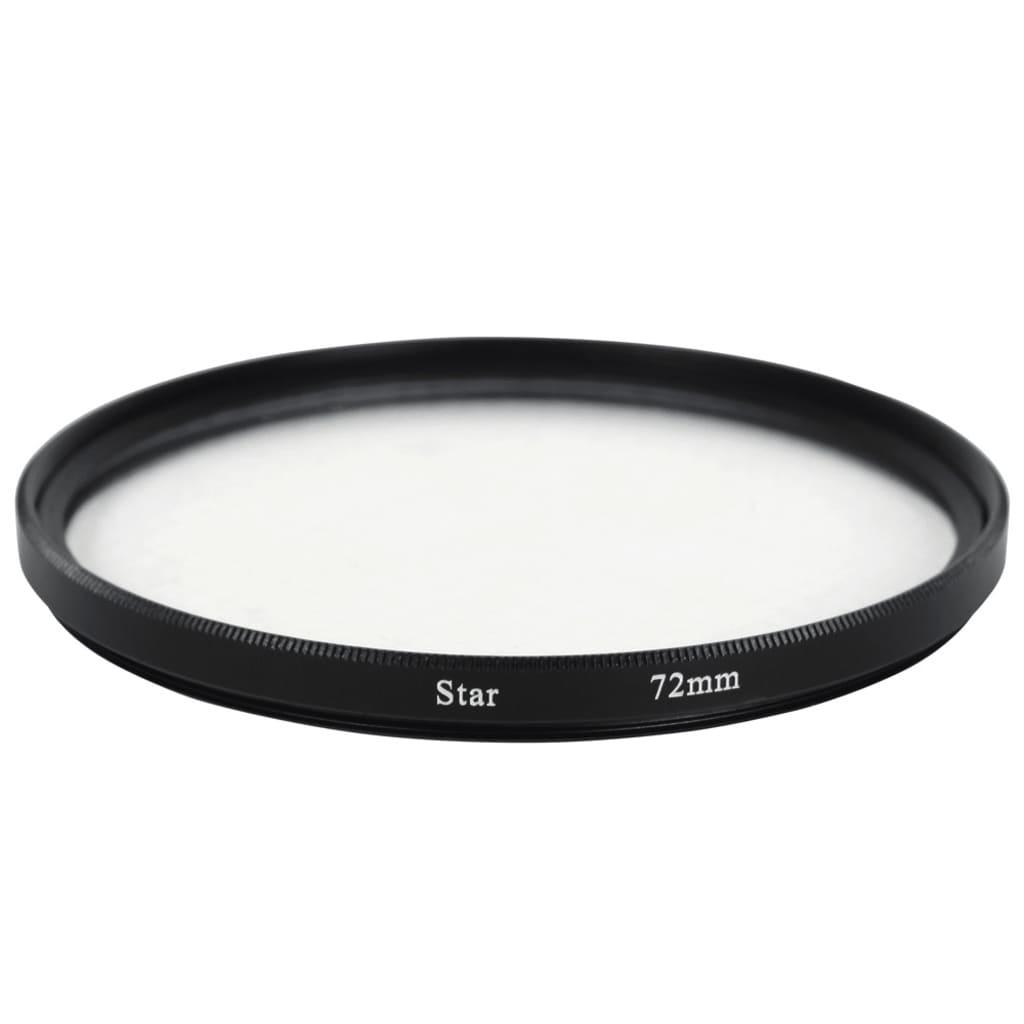 Hvězdičkový filtr 4 paprskový - 72 mm