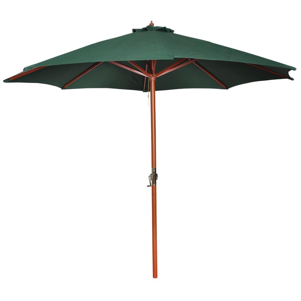 Slunečník zelený 258 cm