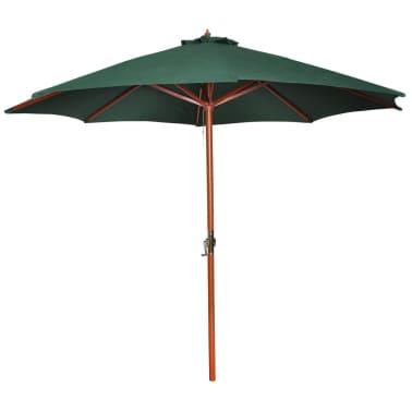 vidaXL Parasoll 300 cm grön[1/7]