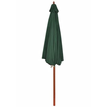 Parasol Green 258 cm.[6/7]