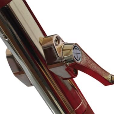 vidaXL parasol 300 x 258 cm hvid[5/7]